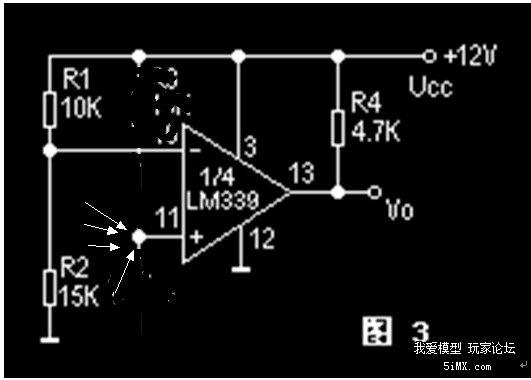 lm393 电压比较器配合&nbsp