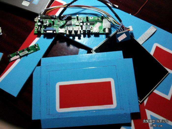 69 diy纯高清fpv显示器,电视机,流媒体播放器    泡沫板废物利用