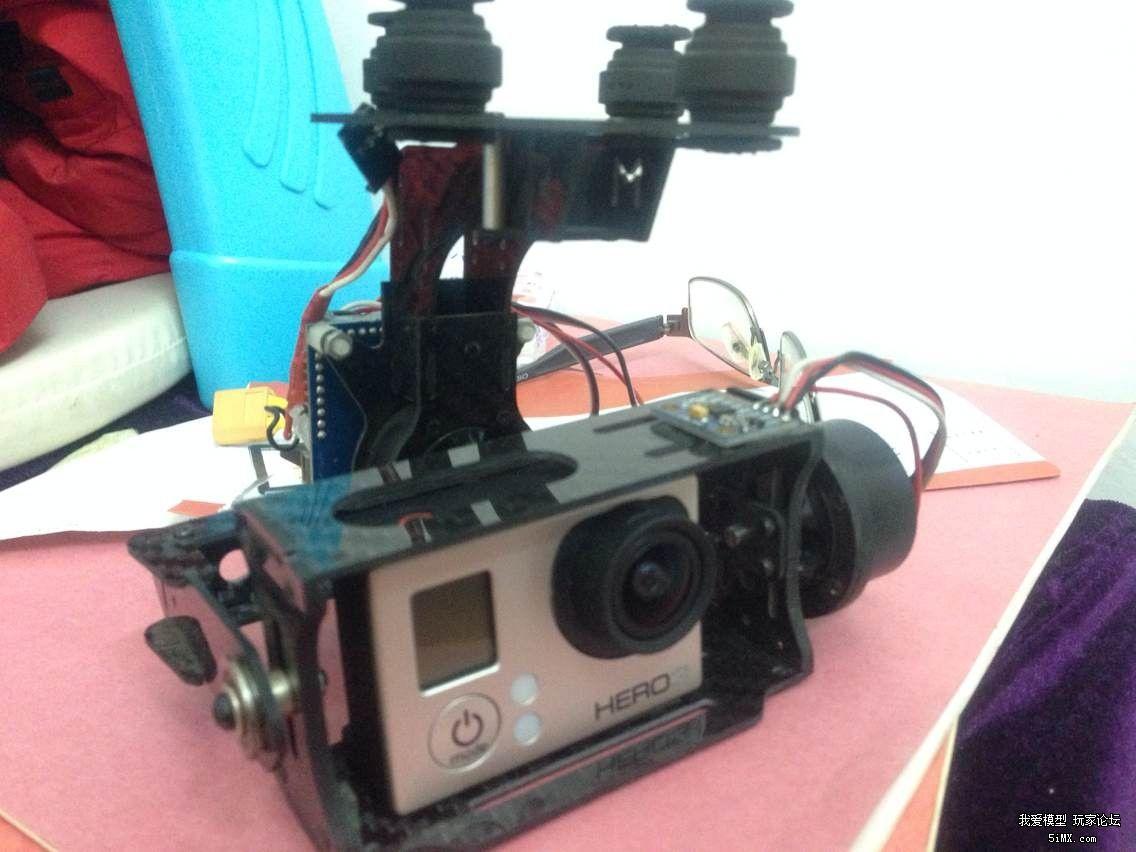 gopro3+2轴云台+16g卡+电池+充电器