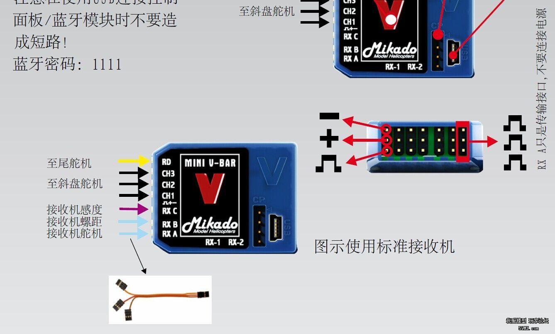 gaui泰世x2 mini vbar陀螺仪接线