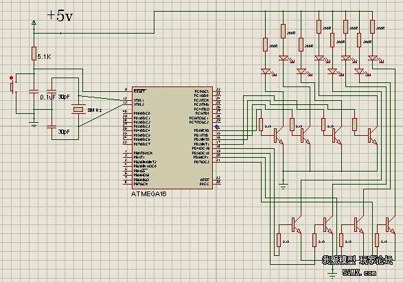 led爆闪电路-电子设备diy玩家