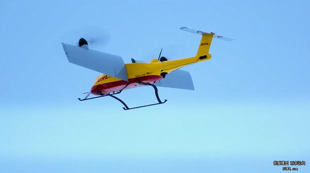 "DHL说:""你们都用无人机送快递,带上我的Parcelcopter!"""