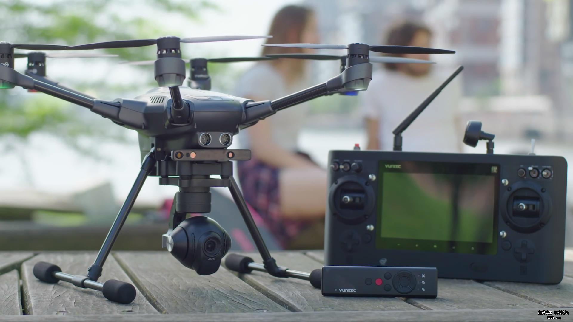Typhoon H无人机开始预购 支持3D实感技术