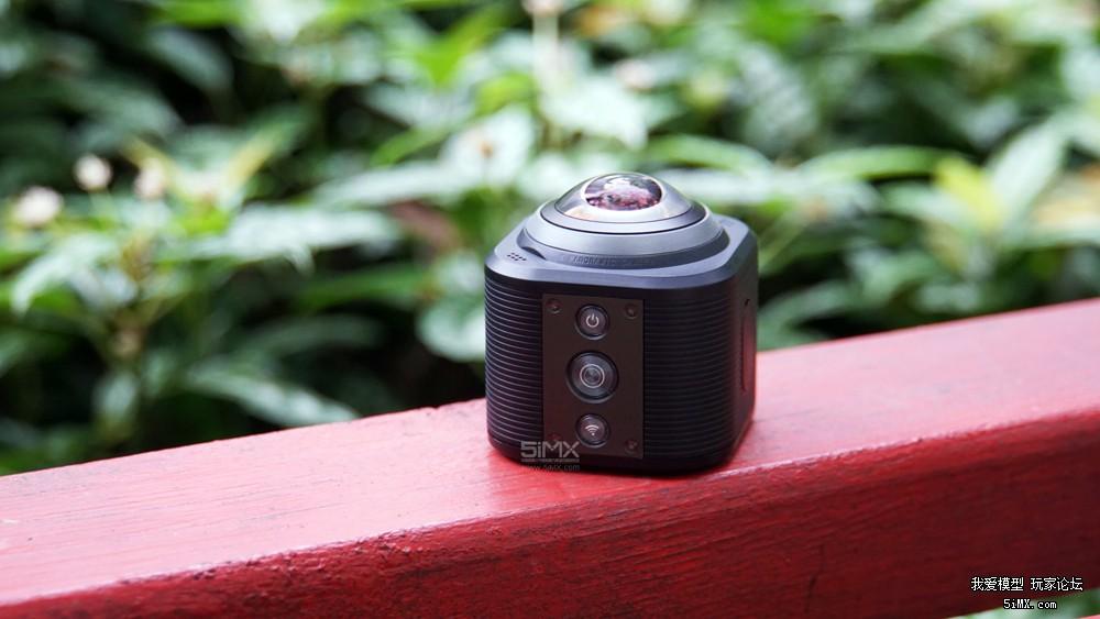 Camorama 4K全景运动摄像机上手体验