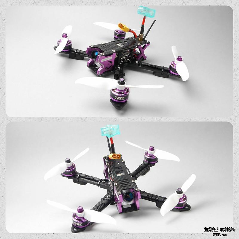 【FCF开箱组装】SKYZONE XH-210机架/3B/FLYCOLOR/FOXEER/DALPROP穿越机组装 第46张
