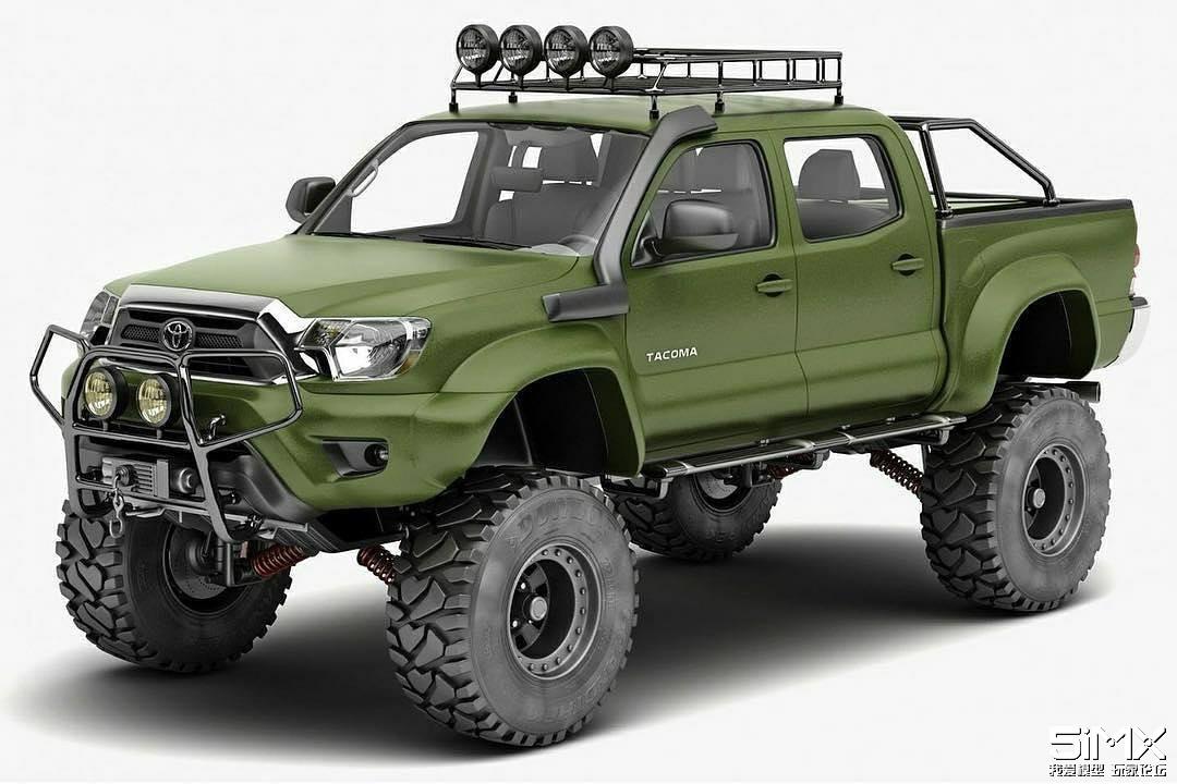 Axial疑似即将发布新款越野车  采用全新结构的底盘、悬挂系统