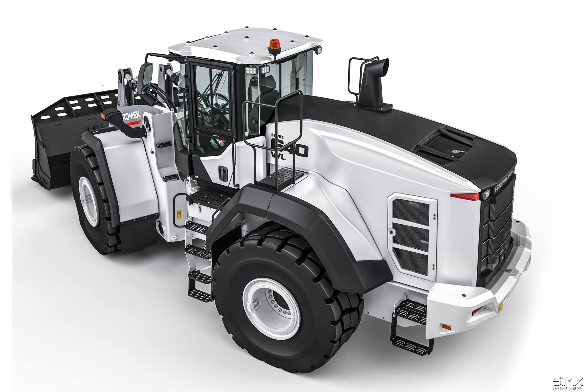 Metalhobi Hidromek 640 WL轮式装载机模型高清大图