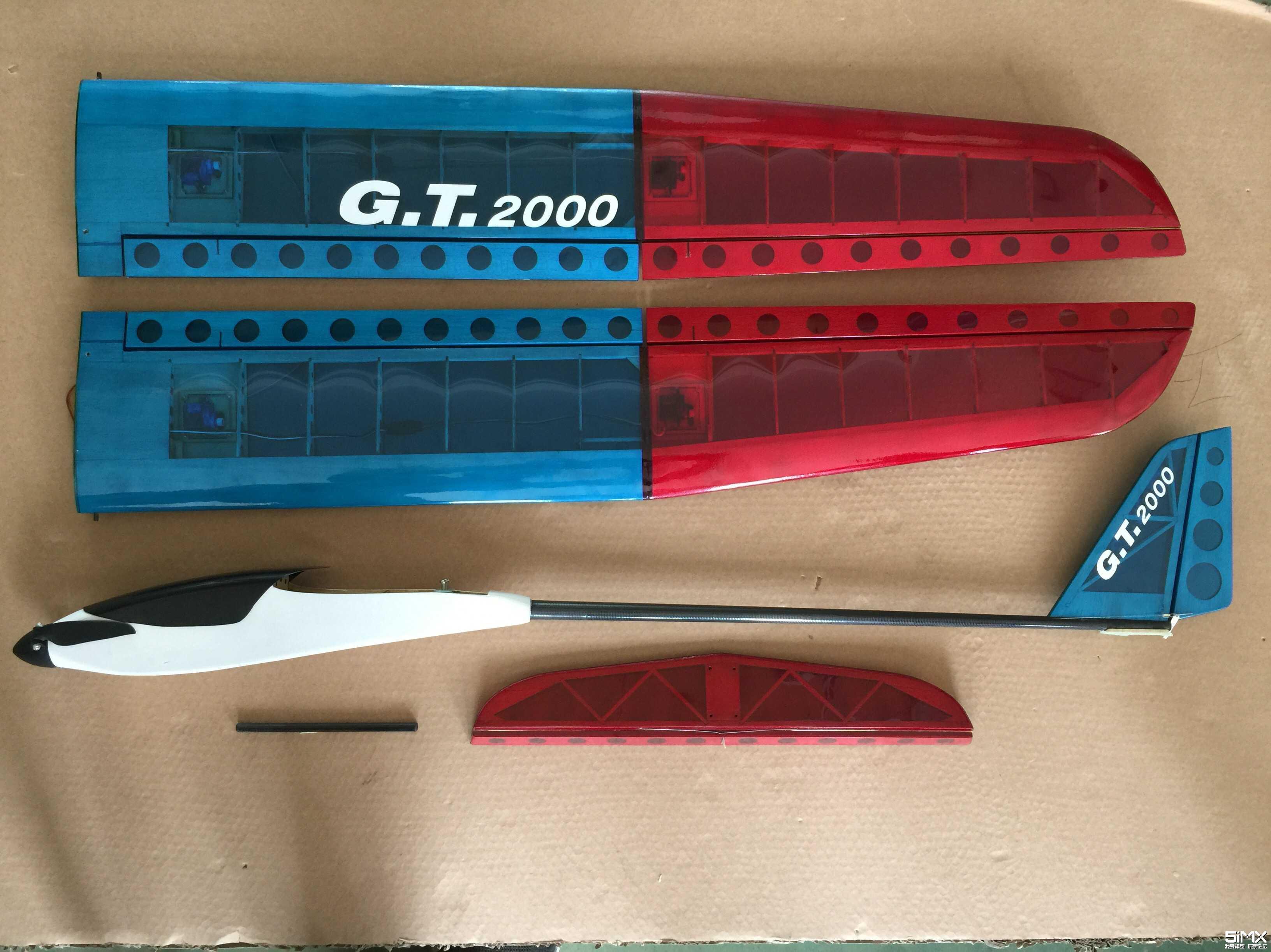 GT2000两米轻木电滑装机