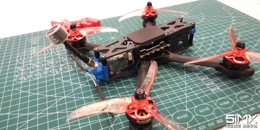 T Motor LF40电机 + F45A一体电调装机评测