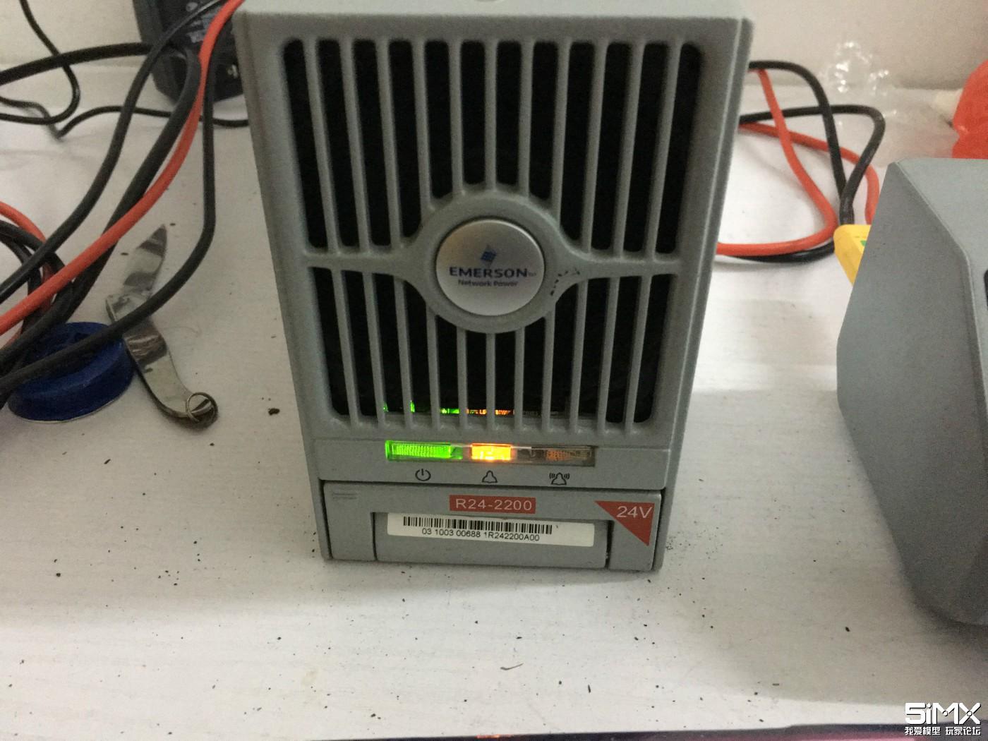 HOTA D6充电器拆解+艾默生R24-2200电源接线改造