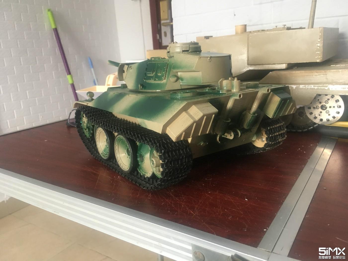 VK1602與三號坦克的混搭