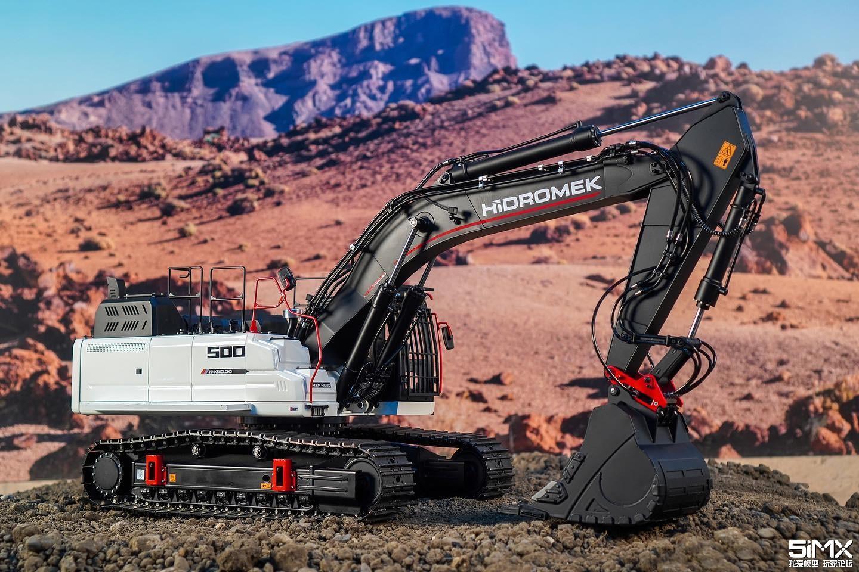 Metalhobi發布Hidromek H4全新系列14.5比例全液壓挖掘機模型