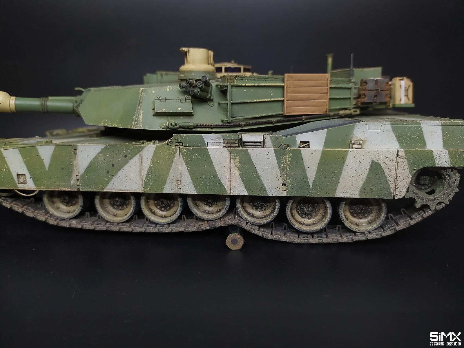 M1A2坦克