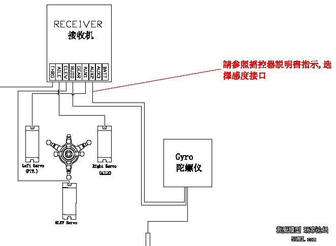 tbs-k20舵机电路图