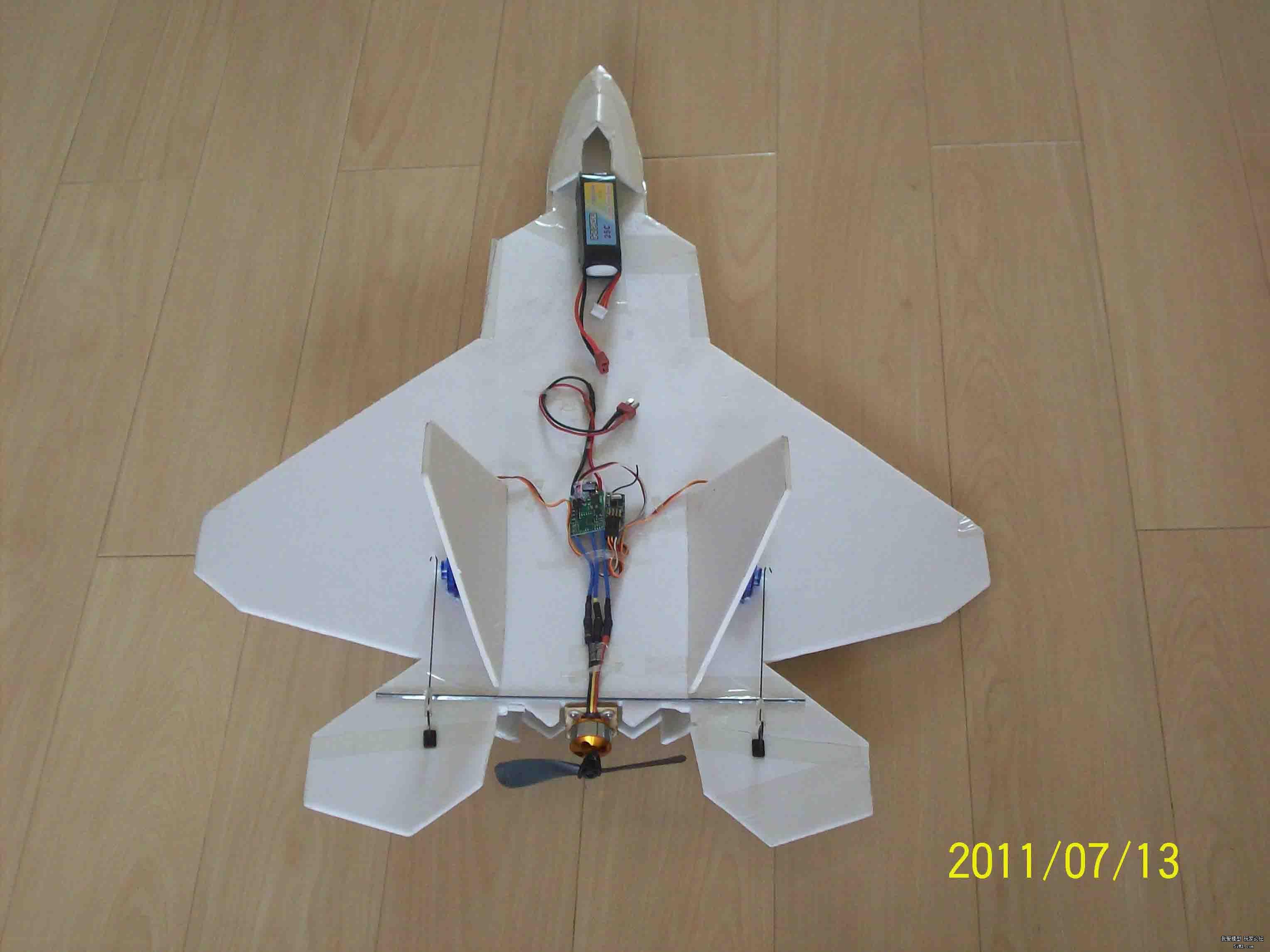 f22纸模型飞机图纸