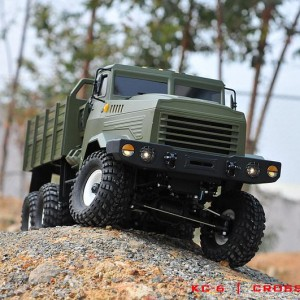 CROSS-RC推出1/12仿真攀爬6X6卡车KC6