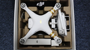[5iMX評測室]大疆DJI精靈3 4K土豪金航拍無人機開箱(多圖,有原片下載鏈接)