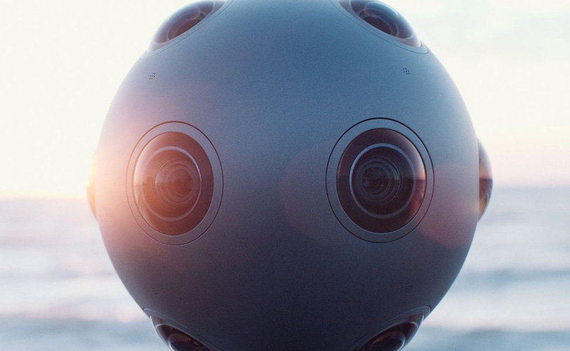 Nokia的全景摄像机被挂在无人机上测试