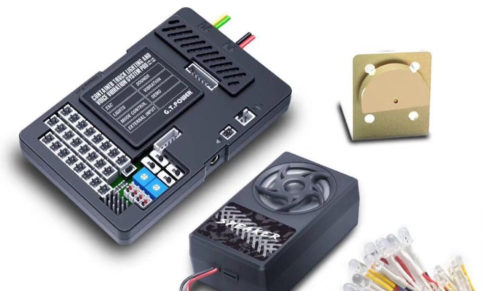 G.T. Power发布全新货柜车仿真声光系统